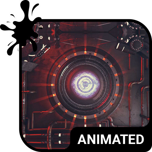 Robot Eye Animated Keyboard Live Wallpaper 3.63 APK Download for android